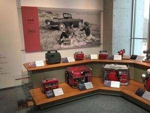 Trudno uwierzyć w to, jak małe były pierwsze przenośne agregaty Honda.