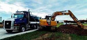 Firma CAT zdobywała doświadczenie projektując silniki swoich ogromnych maszyn